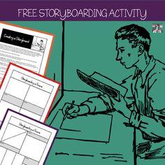 The ELA Teacher's Guide to Storyboarding Success - Spark Creativity English Lesson Plans, Art Lesson Plans, English Lessons, Creative Curriculum, Creative Teaching, English Classroom Decor, Classroom Ideas, High School Art, Middle School