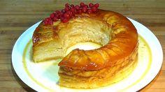 Receta Tarantela (Pudín con manzana) - Recetas de cocina, paso a paso, t...