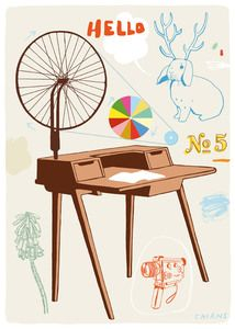 Image of Ideas Generator - Brian Cairns Cairns, Knitted Blankets, Creative Design, Illustrators, Illustration Art, Design Inspiration, Studio, Drawings, Furniture
