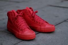 PF FLYERS Center Hi - Red | Sneaker | Kith NYC