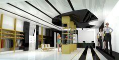"""Lazo"" my first retail store design. #interior #design #interiordesign #retail…"