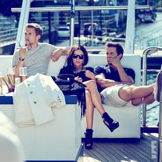 """""""Boys, booze, boats.  Have we captured your attention yet? #TheRoyals are sea bound this Sunday 10
