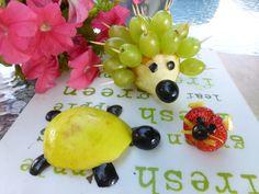 Frutas divertida para los niños
