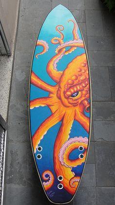drew brophy painted surfboards drew has painted. Black Bedroom Furniture Sets. Home Design Ideas