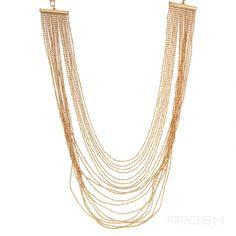 Global Wealth Trade Corporation - FERI Designer Lines Graduation Necklace, Selling On Pinterest, Ball Chain, Designer Wear, Passion For Fashion, Jewelery, Luxury Fashion, Gold Necklace, Fashion Jewelry