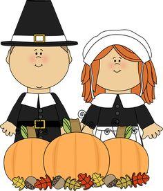Pilgrims and harvest.