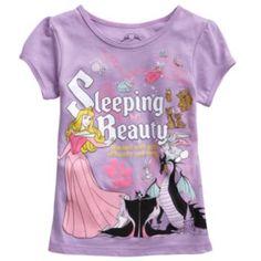 Disney Princess Sleeping Beauty Tee - Girls 4-6x