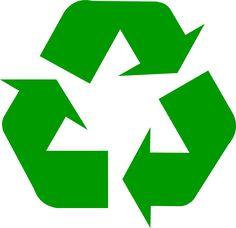 Dark green universal recycling symbol / logo / sign - http://www.recycling.com/downloads/recycling-symbol/