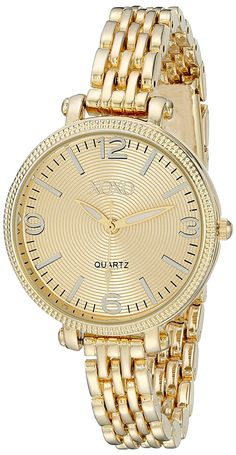 XOXO Women's XO5754 Gold-Tone Watch >>> You can get additional details at the image link.