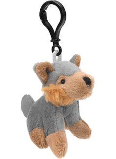 Wolf Wildlife Plush Clip-On Stuffed Animal by Unipak