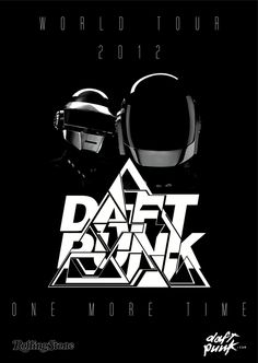 Daft Punk. by Robert Missen, via Behance