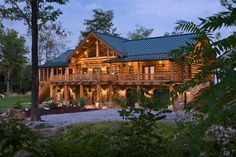 An Ill Wind Blows Much Good: A Handcrafted Pennsylvania Log Home Hurricane Ivan delivers the logs for a handcrafted Pennsylvania home.