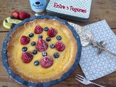 Hoy tenemos una Tarta Mandala de Crema de Limón con Fresas y Arándanos. Una tarta llena de contrastes y una gran frescura. No es una tarta que pueda pasar desapercibida en cualquier paladar. Por un…