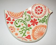 Ceramic spoon rest on Etsy