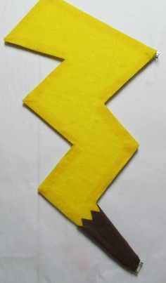 Pikachu tail template google search pokemon party ideas pokemon pikachu tail cosplay costume by agypsyred on etsy 2500 pronofoot35fo Image collections