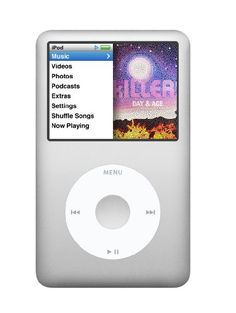 Apple iPod classic 160 GB Silver (7th Generation) NEWEST MODEL Apple http://smile.amazon.com/dp/B001F7AHY6/ref=cm_sw_r_pi_dp_Qlstub1DR0DXF