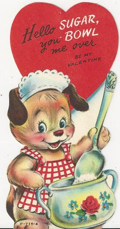 You bowl me over! #Vintage #Valentine