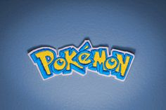 Pokemon Logo Embroidered Ironon Pokemon Patch by OKsmalls on Etsy, $7.00