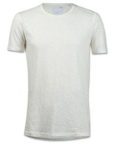 Minimum Percy Herren T-Shirt cremeweiß