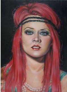 self portrait by Kelly Eden by *KellyEden on deviantART