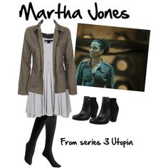 Designer Clothes, Shoes & Bags for Women Martha Jones, Doctor Who Outfits, Fandom Outfits, Clara Oswald Fashion, Jones Fashion, Sherlock, Cosplay, Style Inspiration, My Style