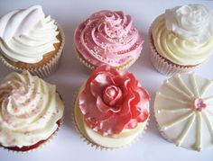 Pretty cupcakes Pretty Cupcakes, Baking Recipes, Desserts, Food, Cooking Recipes, Tailgate Desserts, Deserts, Essen, Postres