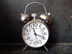 Mechanical Metal Alarm ClockSoviet Alarm Clock by CodettiSupply