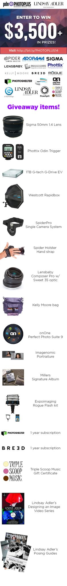 It's about the photoplus Lindsay is having this week!