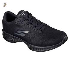 Skechers Women's GOwalk 4 Premier Walking Shoe,Black,US 6.5 W - Skechers sneakers for women (*Amazon Partner-Link)