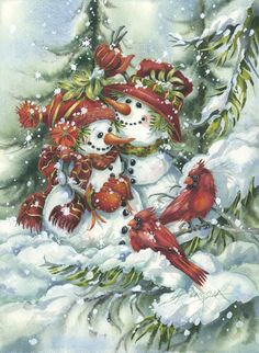 Bergsma Gallery Press :: Products :: Holiday - Occasions :: Christmas :: Christmas Prints :: Under The Mistletoe - Prints