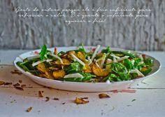 Marmita: Salada de batata doce, espinafres e maçã