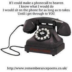 Phone call to heaven