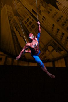Spider-Man: Turn Off the Dark is a rock musical with music and lyrics by U2's Bono and The Edge and a book by Julie Taymor, Glen Berger, and Roberto Aguirre-Sacasa.