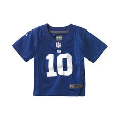 Nike NFL New York Giants (Eli Manning) Infant Kids  Football Home Game  Jersey 3a65441c8