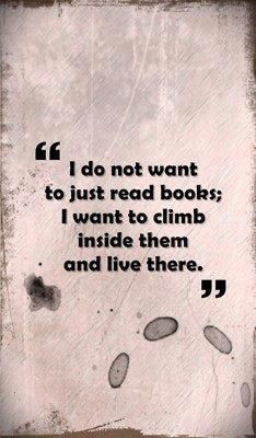 So true. Especially my favorite childhood books.