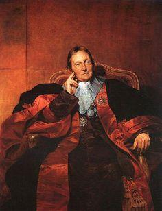 Marquis de Pastoret by Paul Delaroche. Academicism, Romanticism. portrait