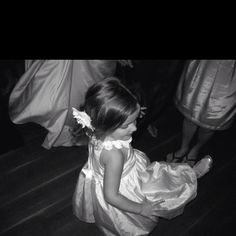 Every flower girl should have as much fun as my little one did! Love this pic!