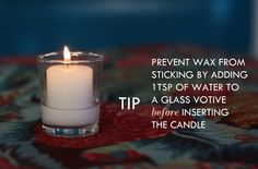 Aunt Peaches: How to Remove Candle Wax From Glass Containers