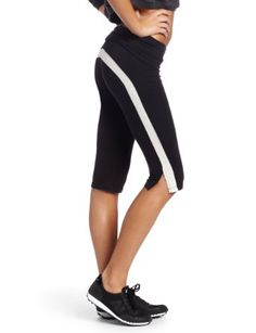 Amazon.com: HKNB Heidi Klum for New Balance Womens Foldover Cropped Pant: Clothing