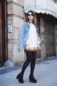 Layering-Suede_Skirt-Levis_Vintage-Wedges-Outfit-Street_Style-44