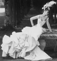 'Paris Couture: The Grand Tradition' photographed by Steven Meisel for Vogue US, October 1994