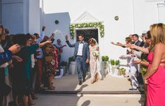 Summer destination wedding in Santorini | Maria & Konstantinos - Love4Wed