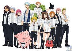 seven deadly sins anime wallpaper - Google Search