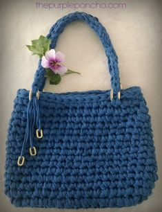 Island Breeze Bag – A Free Crochet Pattern – The Purple Poncho