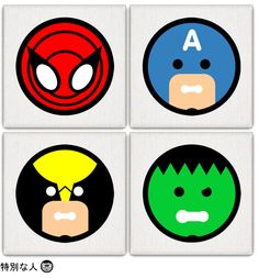 Avengers. Click to see more.   ANDY AWESOME ART