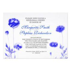 elegant white rehearsal dinner invitations