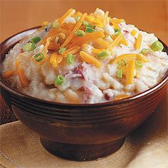 Cheddar Mashed Potatoes with Bacon | Cuisine at home eRecipes