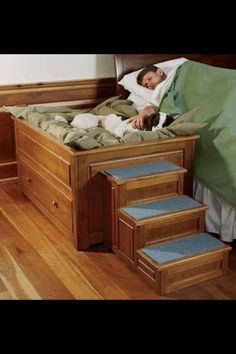 My dog doesn't sleep in my bed so it would be so nice to have this!