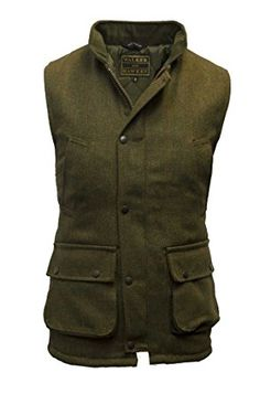 f0fbd8ff08527 Walker and Hawkes Men's Derby Tweed Shooting Waistcoat Country Gilet Review