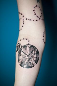 Pocket watch tattoo. This with vienna instead of berlin and w/o chain